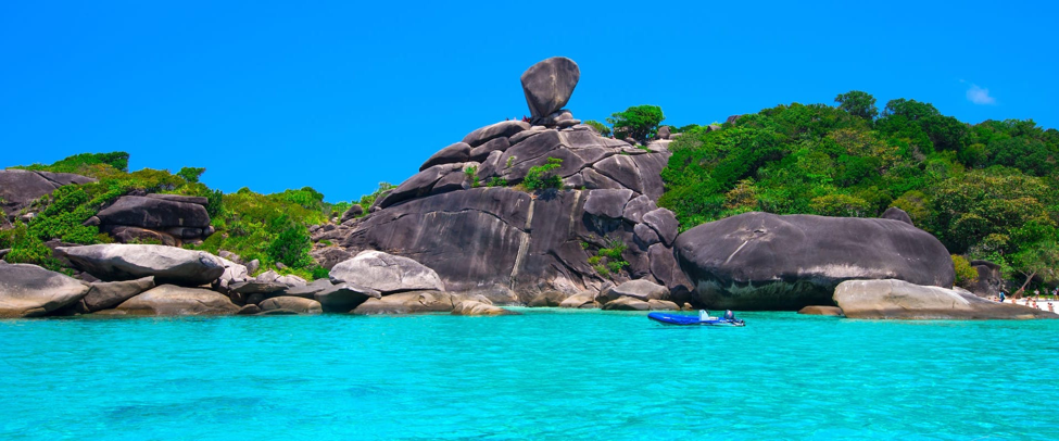 Phuket, Koh Phi Phi, Koh Lanta, Pattaya, and Similan Islands