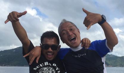 beginner dive spots in Thailand