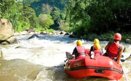 white water rafting extreme sports in Thailand